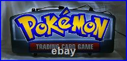 Pokemon TCG Hobby Sign Exclusive 20th Anniversary Store Retail Display Sign LED