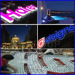 Power+Remote+ RGB 10100ft 5050 SMD 3 LED Module STORE FRONT Window Sign Lights