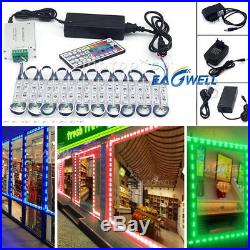 RGB 101000FT 5050 SMD 3 LED Module STORE FRONT Window Sign Light Lamp Kit