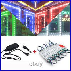 RGB 10500FT 5050 SMD 3 LED Module STORE FRONT Window Sign Light Strip DIY Sets