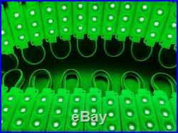 RGB 5050 SMD LED Module Light 12V Tape 80 Pcs X 3 LEDS Store Front Window Sign