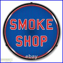 SMOKE SHOP Sign 14 LED Light Store Business Advertise USA Lifetime Warranty New