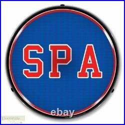 SPA Sign 14 LED Light Store Business Advertise Made USA Lifetime Warranty New