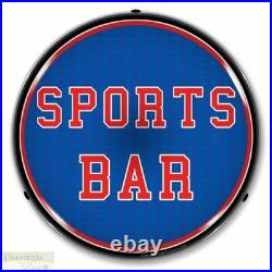 SPORTS BAR Sign 14 LED Light Store Business Advertise Made in USA Life Warranty