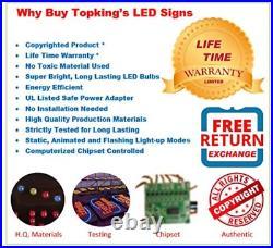 Steak Sign, Super Bright LED Open Sign, Store Sign, Business Sign, Windows Sign
