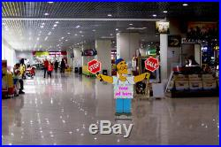 Store Advertising Display Sign LED Stand Sale Banner Store Window Decoration