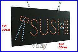 Sushi Sign, TOPKING Signage, LED Neon Open, Store, Window, Shop, Business, Grand