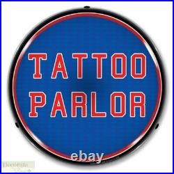 TATTOO PARLOR Sign 14 LED Light Store Business Advertise Made USA Life Warranty