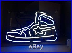TN111B BW Sneakers Shoe Store Fun Poster Nike Decor Neon Light Sign LED 14x8