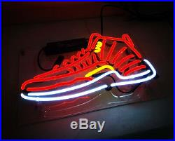TN114R Sneakers Shoe Store Fun Poster NB Decor Neon Light Sign LED 14x8