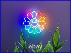 Takashi Murakami LED Neon Wall Sign Light For Pub Bar Store decor Party Display