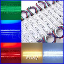 US 101000ft 5050 SMD 3 LED Module Store Front Window Light Sign Lamp Waterproof