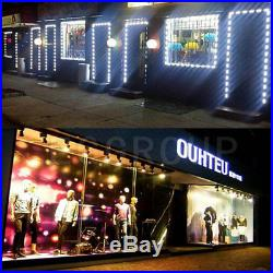 US 10100ft 5050 SMD 3 LED Bulb Module Lights Club Store Front Window Sign Lamp