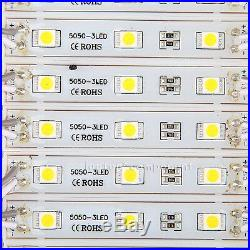US 10ft160FT SMD 5050 3 LED Module Lights STORE FRONT WINDOW SIGN Lamp Lighting
