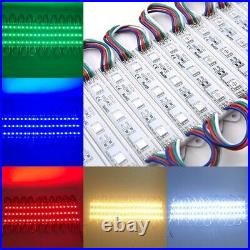US 10ft500ft RGB Store Front LED Window Module Lighting Supper Bright Sign Lamp