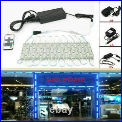US Blue SMD 5050 6 Led Store Front Module Light Waterproof Sign Advertising Lamp