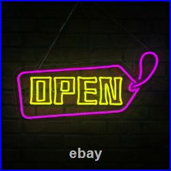 USA Bright LED Open Store Shop Club Bar Business Sign Neon Display Lights