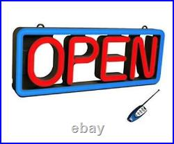 Ultra Bright Electronic LED Neon Multi-Color Business Store Window Open Sign