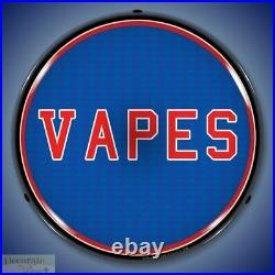 VAPES Sign 14 LED Light Store Business Advertise Made USA Lifetime Warranty New