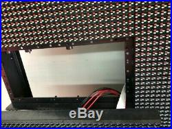 Very Bright WiFi LED Sign programmable billboard store front 4'x7' P10 DIP