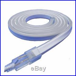 Violet LED Neon Rope Light Flex Tube Store Home Party Wedding Sign Decor 110V 65