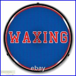 WAXING Sign 14 LED Light Store Business Advertise Made In USA Lifetime Warranty