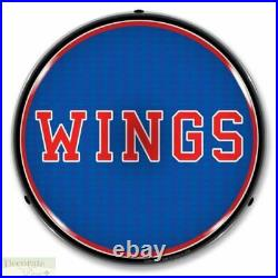 WINGS Sign 14 LED Light Store Business Advertise Made USA Lifetime Warranty New