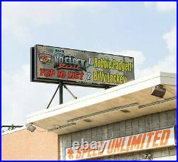 Watchfire LED Double Faced Digital Billboard Store Retail Signs 5 ft x 18 ft
