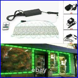 Waterproof 5054 SMD 6 LED Module Light Kitchen Cabinet Store Sign Lamp Decor 12V