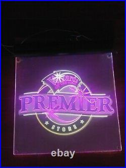 Wizards Of The Coast Premier Store Promotional Lighted LED Wall Window Sign WOTC
